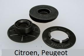 Originálna fixácia na kobercoch Citroen a Peugeot