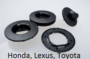 Originálna fixácia na kobercoch Honda, Lexus a Toyota