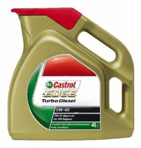 Castrol EDGE 5W-40 Turbo Diesel / 4L